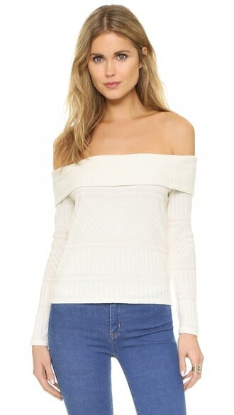 blouse off the shoulder top