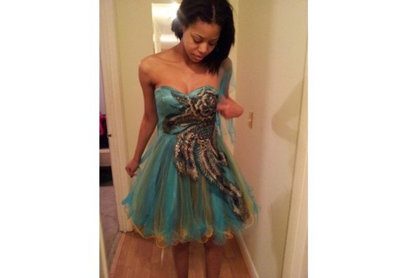 sweetheart neckline homecoming dresses organza short homecoming dresses short prom dresses 2014 ball gown dresses a-line dresses peacock feathers
