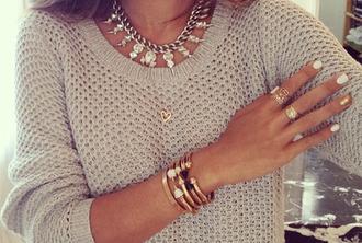 jewels fashion tumblr necklace jacket