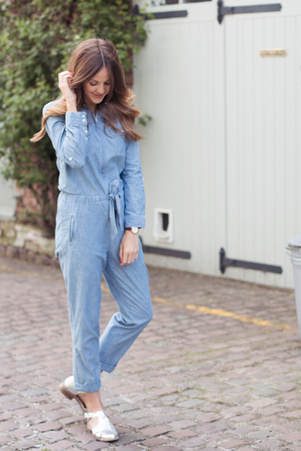love of cloth blogger jumpsuit shoes jewels sunglasses