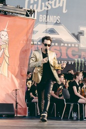 jacket,brendon urie,suit,suit jacket,mens blazer,panic! at the disco