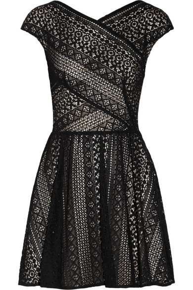 Lover | Pyramid cotton-blend lace dress | NET-A-PORTER.COM