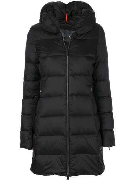 coat long women black
