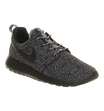 Nike Roshe Run Cool Grey Black Print - Unisex Sports