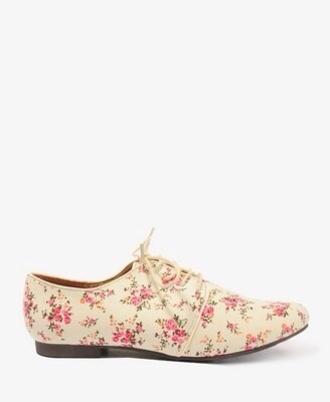 shoes floral oxfords oxfords floral flowers