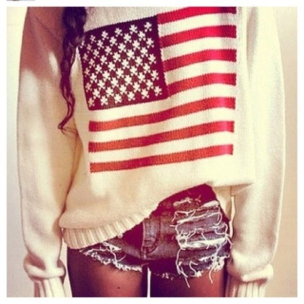 American Flag Short Shorts - Shop for American Flag Short Shorts ...