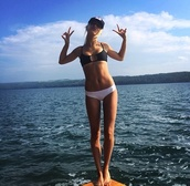 swimwear,hailey baldwin