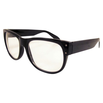 Xhilaration Clear Lens Fashion Glasses - Black : Target
