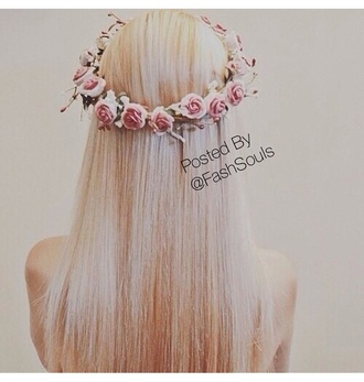 hair accessory hipster wedding flower crown