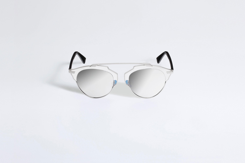 dior so real sonnenbrille kristall schwarz und silber. Black Bedroom Furniture Sets. Home Design Ideas