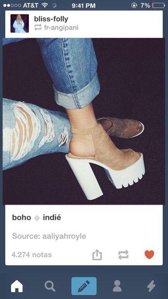shoes chunky heels heels
