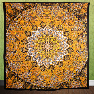 home accessory tapestry wall decor tapestry star mandala star tapestry