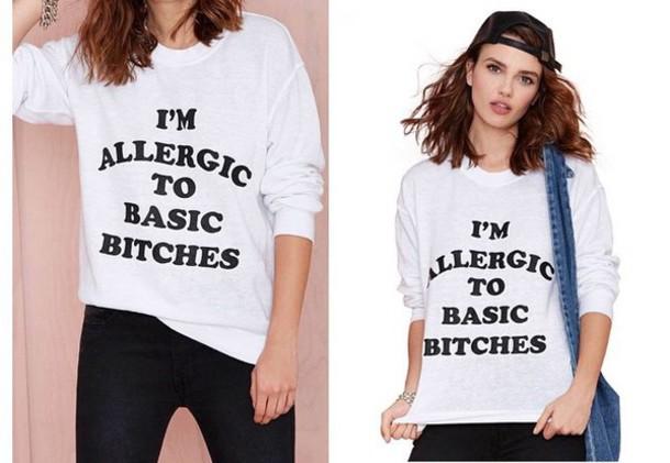sweater tumblr sweater tumblr shirt allergic
