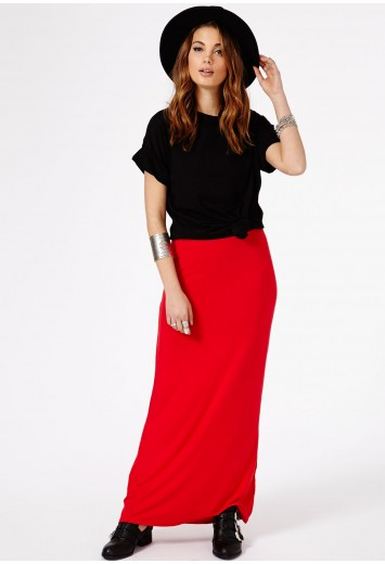 Mildred Jersey Maxi Skirt - Skirts - Maxi Skirts - Missguided