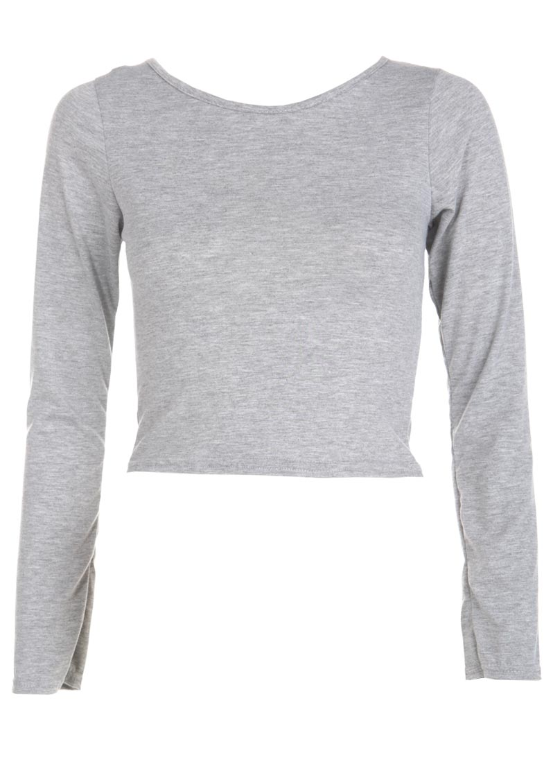rutor-org.ga: grey crop top long sleeve. From The Community. Stand Up Neck Sexy Crop Top, Long Sleeve Juniors Girls Sexy Tops. icyzone Long Sleeve Crop Top Zip up Hoodie Workout Clothes Sweatshirts for Women. by icyzone. $ - $ $ 12 $ .