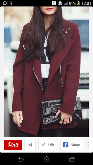 zip dark red