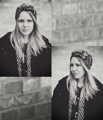jacket elenita scarf