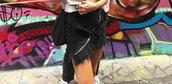 skirt,black,denim,zip,horizontal zip,ripped,silver zip,washed denim,distressed denim,distressed denim skirt,frayed skirt,frayed denim skirt,frayed denim
