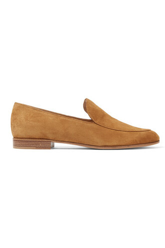 tan loafers suede shoes