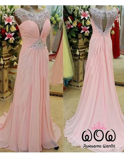 Pink arabic dress