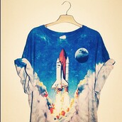 t-shirt,vintage,hippie,moon,clouds,sky,the rocket summer,shirt,space,spaceship,launch,science,rocket,smoke,menswear,girl,unisex,universe,black and white,rocketship,cute,love,oversized,clothes,ombre,galaxy print,fire,tie dye,top,cool,tumblr,amazing,is,this,from,nasa,blue,guys,multicolor,rocket shirt,blouse,rocket ship,grunge,grunge t-shirt,ops,one piece,mens t-shirt,hipster menswear,alternative,pinterest,shuttle,90s style,90's t-shirt,white,blastoff,teenagers,graphic tee,orange,soft grunge,astronomy,printed t-shirt