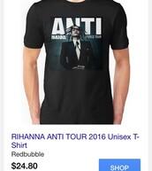 t-shirt,rihanna,black t-shirt,unisex