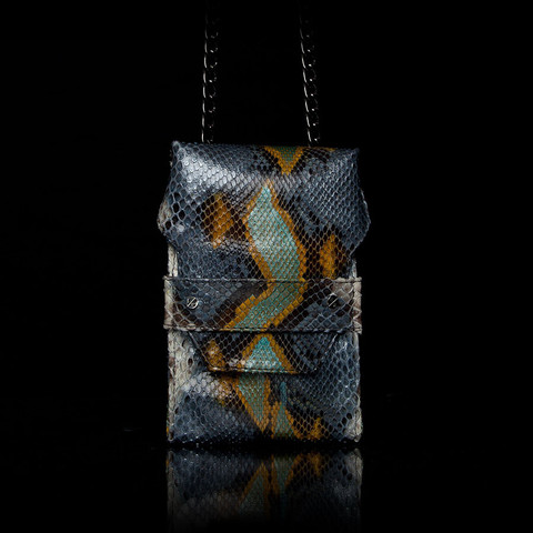 CHINA Small Cross Body | Elisabeth Weinstock - Exotic Snakeskin Handbags & Accessories