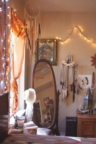 home accessory home decor boho dreamcatcher mirror