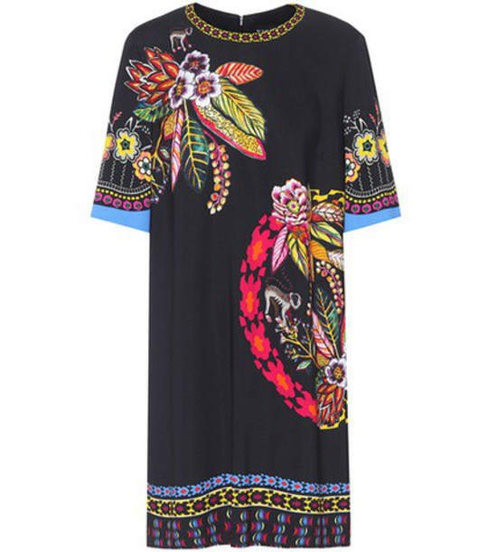 ETRO dress printed dress black