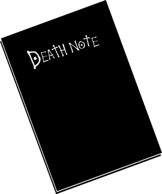 home accessory death notebook