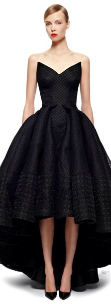 dress black dress gown ball gown dress