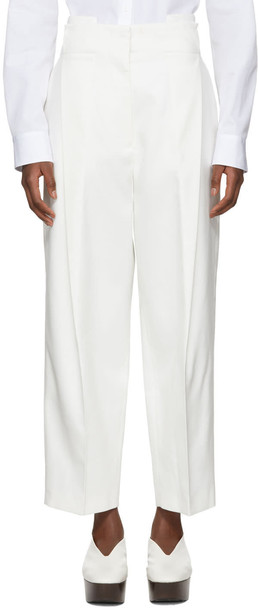 white off-white pants