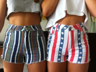 shorts aztec american flag high waisted american flag shorts high waisted bright aztec shorts high waisted shorts matching shorts and top usa red white and blue striped shorts cute shorts print denim jeans high waisted jeans high waisted bright shorts