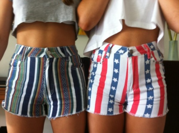 shorts aztec american flag high waisted american flag shorts high waisted bright aztec shorts High waisted shorts matching shorts and top usa red white and blue striped shorts cute shorts High waisted shorts print denim jeans high waisted jeans high waisted bright shorts
