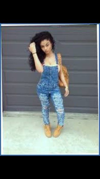 jeans overalls overalls distressed ripped shortalls overalls overall  denim jeans