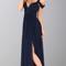 Dark blue off shoulder slit sexy maxi dresses ksp246 prom dresses [ksp246] - £87.00