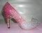Hot pink kristall hochzeit schuhe bling high heels strass braut schuhe hochzeit pumpe kristall schuhe crystal stöckelschuhe