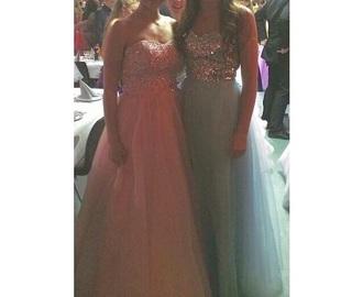 dress prom dress prom homecoming dress pink dress turquios glitter girly girly dress tumblr dress tumblr maxi dress long dress long prom dress