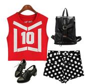 top,tank top,red,black,white,t-shirt,band t-shirt,shorts,shoes,fashion,bag,beauty fashion shopping,beautiful bags