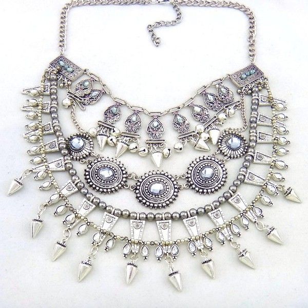 jewels silver style necklace jewelry jewls chunky 90s necklace statement necklace trendy