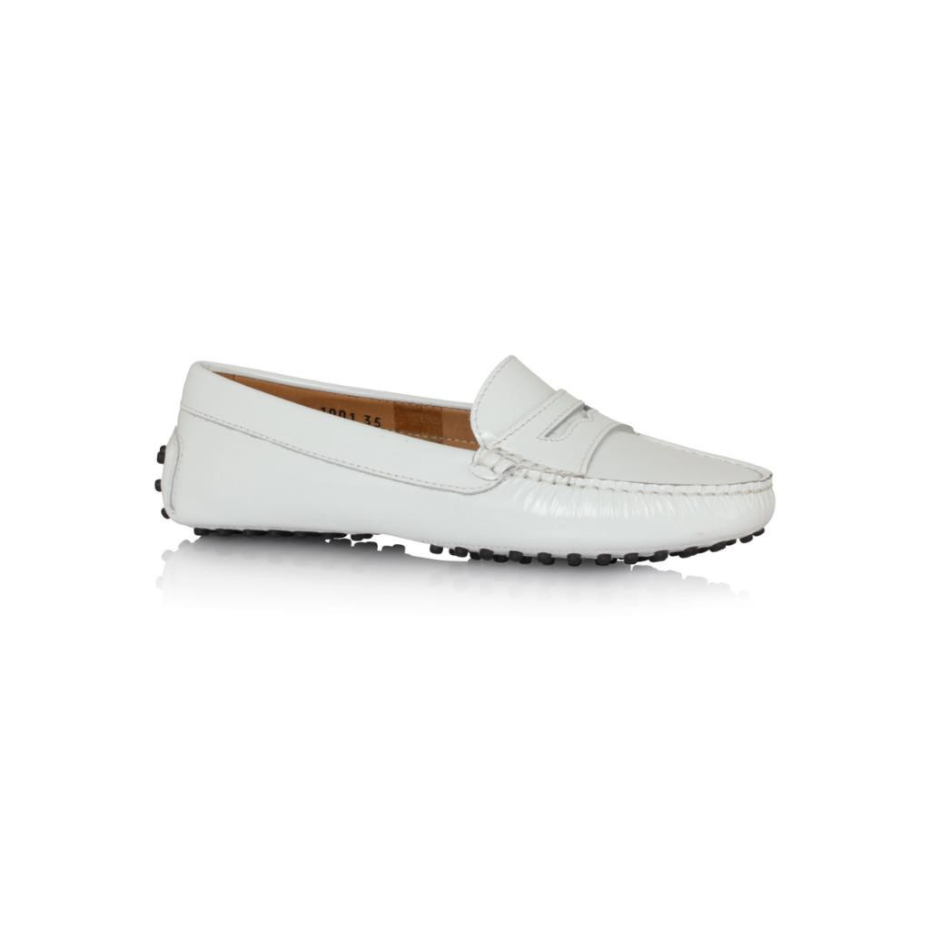 White patent leather - Andy Tom - Made in Italy shoes and accessories