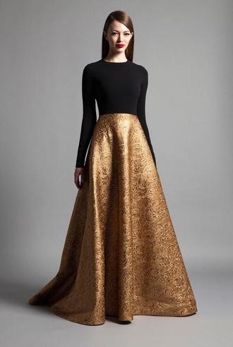 skirt long skirt silk beautiful