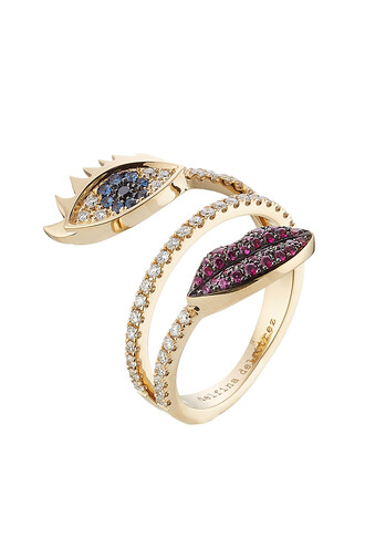 diamonds ring gold ring gold white multicolor jewels