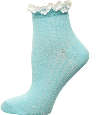 socks cable knit aqua girly wishlist