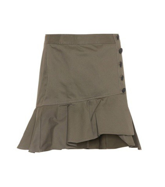 Veronica Beard skirt cotton green