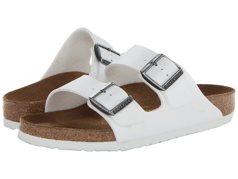 Birkenstock Arizona White Birko-Flor™ - Zappos.com Free Shipping BOTH Ways