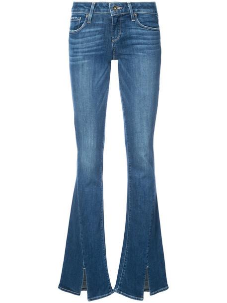 Paige jeans women spandex cotton blue