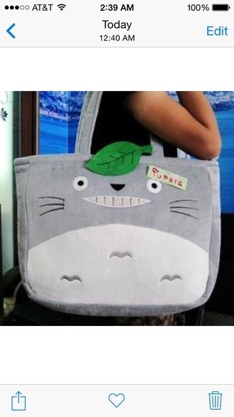 totoro tote bag kawaii