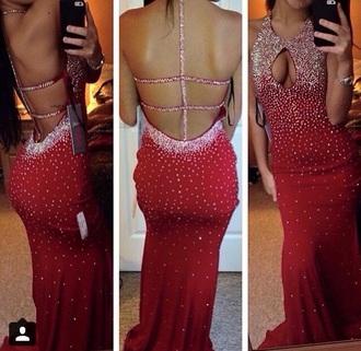 dress red dress sparkly dress prom dress prom gown prom