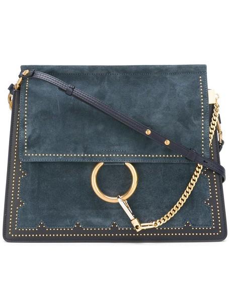 Chloe women bag shoulder bag blue